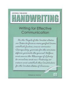 Original Handwriting: Writing for Effective Communication