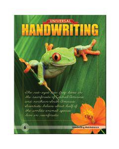 Universal Handwriting - Grade 6