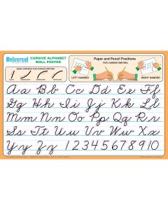 Universal Handwriting Wall Poster Gr 4