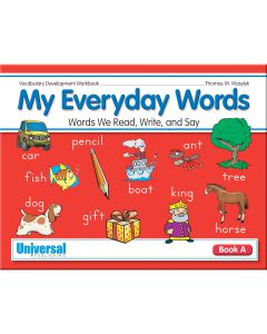 Everyday Words - Book A