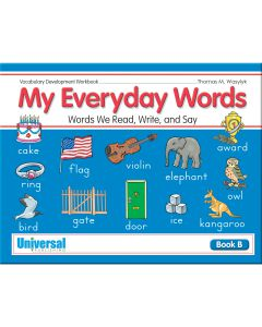 Everyday Words - Book B