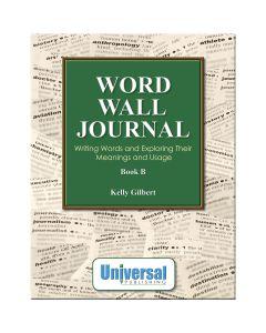 Word Wall Journal Book B