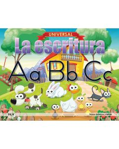 Universal La escritura: Trazos básicos y letras