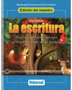Universal La escritura: Edición del maestro (Dominando la letra de imprenta)